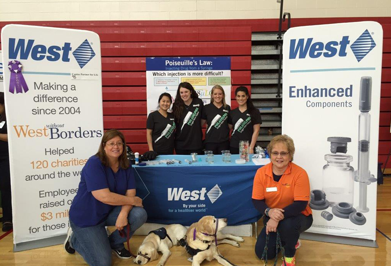Canine Partners for Life and West Employees