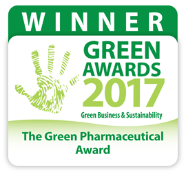 2017 Green award logo