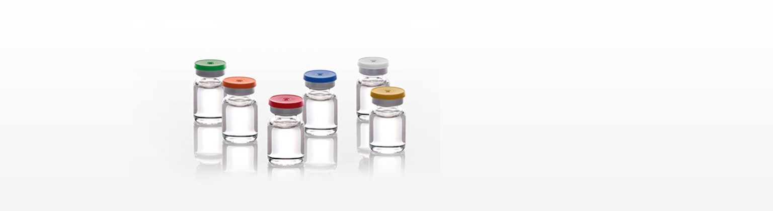 Vials with verux seals