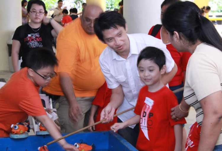 Singapore partnered with MINDSville@Napiri to support children with disabilities.