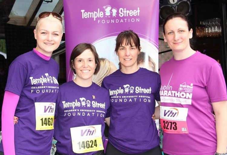 West supports Temple Street Foundation.