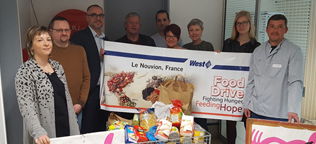 Le Nouvion Location's Food Drive