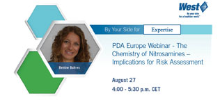 Bettine Boltres presents at PDA Webinar