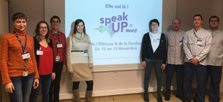 Compliance team speak up photo