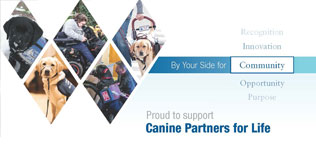 West is proud to support Canine Partners for Life