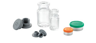 Vials, Seals and stoppers