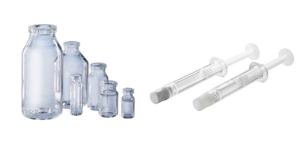 Daikyo Crystal Zenith Vials and Syringes