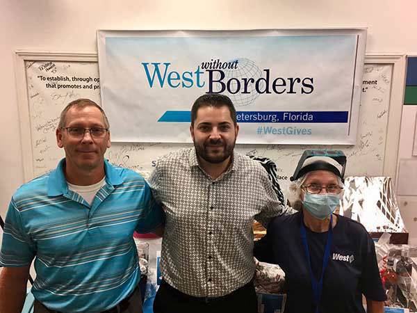West Employees in St. Petersburg, Florida Raise Funds to Support the Children's Cancer Center