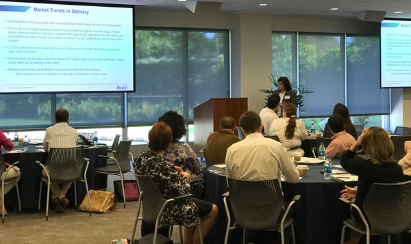 Fran DeGrazio Presenting at the EduSeries September 2017 in Exton