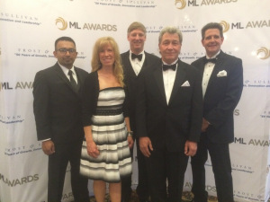 Contract Manufacturing employees at Awards Gala