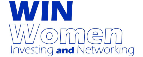 WIN women investing and networking logo