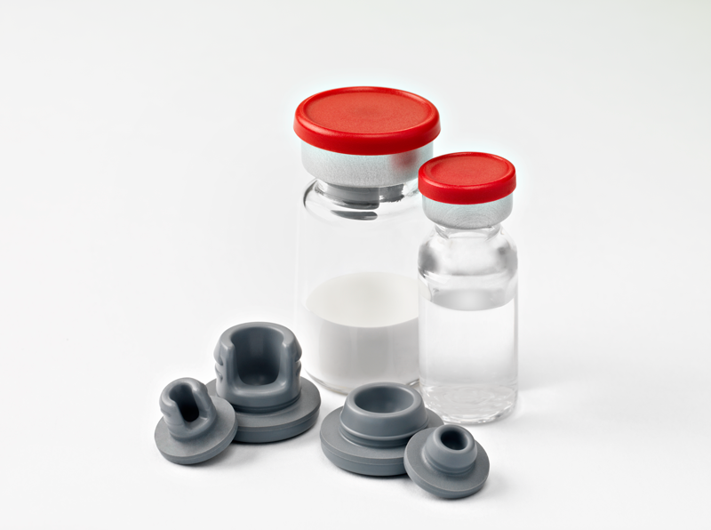Stoppers with Complete filled Vials