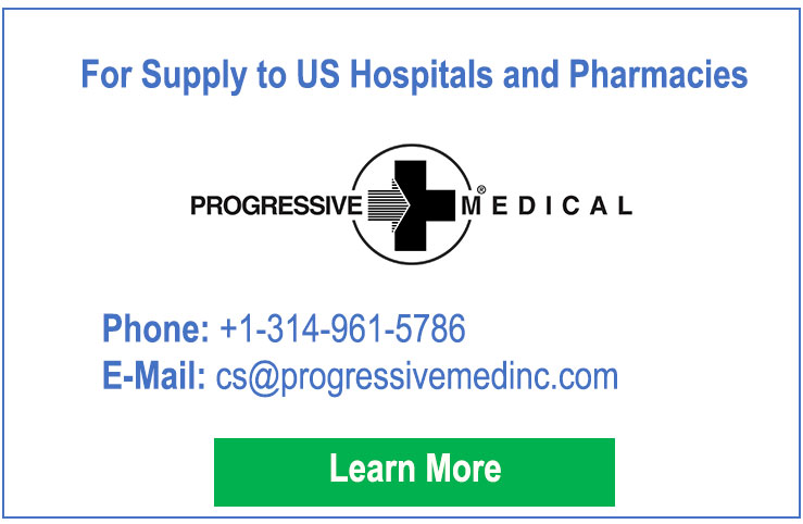 Contact for Supply to US Hospitals and Pharmacies