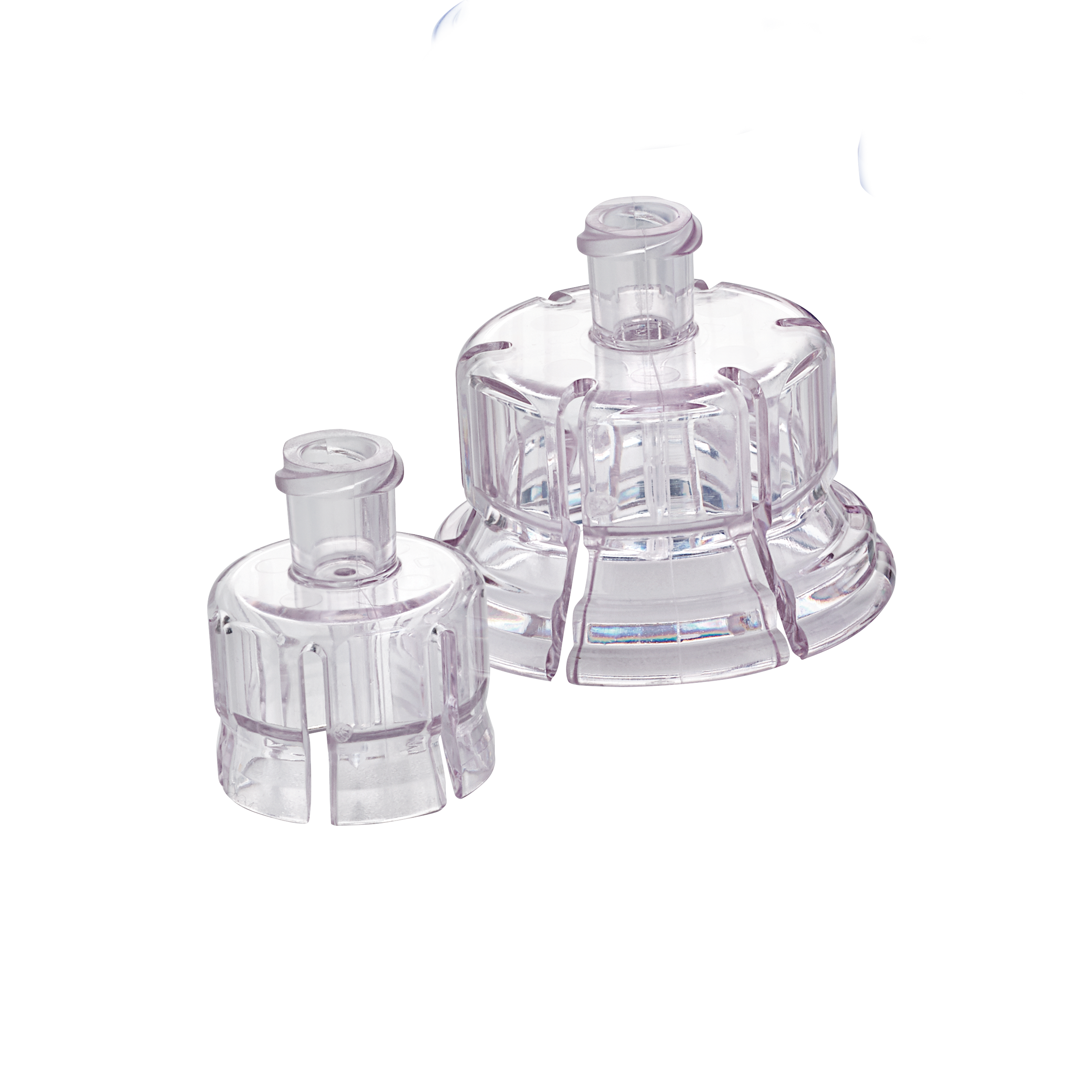 West's 20mm and 13mm vial adapters