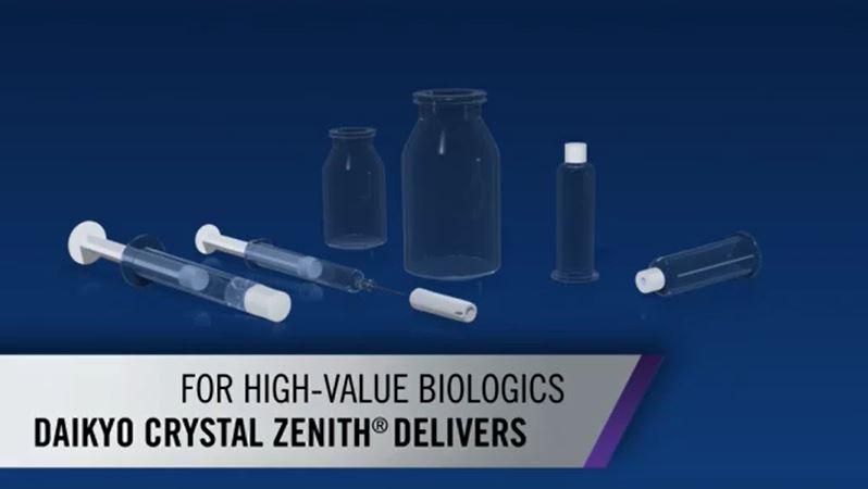 Daikyo Crystal Zenith Sample offerings