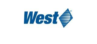 Blue West logo with Diamond